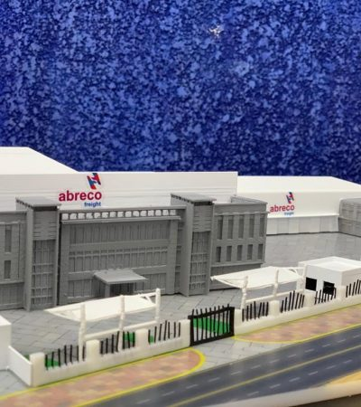 Architectural 3D printed models